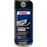 SONAX Polish & Wax COLOR modrá, 500ml - Autokosmetika