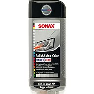 SONAX Polish & Wax COLOR stříbrnošedá, 500ml - Autokosmetika