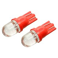 Compass Lamp T10 1LED 12V red 2pc