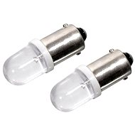 Compass bulb 1LED 12V Ba9s white 2pc