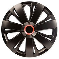 "ENERGY RED RING BLACK 14"" 4ks - Poklice na kola"