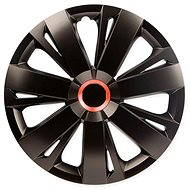 "ENERGY RED RING BLACK 16"" 4ks - Poklice na kola"