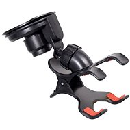 COMPASS Phone Holder / GPS suction cup Double CLIPS