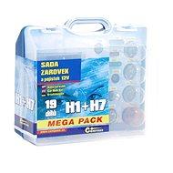 COMPASS MEGA H1 + H7 + fuses, spare set 12V - Car Bulb