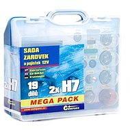 COMPASS MEGA H7 + H7 + fuses, spare set 12V - Car Bulb