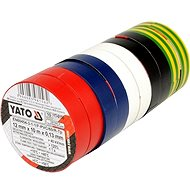 Yatom insulating tape 12 x 0.13 mm x 10 m color 10 pieces