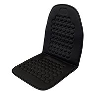 Compass massage seat cover with magnets black
