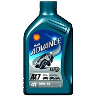 Shell Advance 4T AX7 10W-40 (SL / MA2) 1 Liter