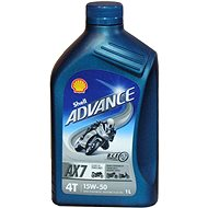 SHELL ADVANCE 4T AX7 15W-50 1lt (SL/MA2)