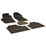 Rubber mats for Nissan Navara (07-12) - Car Mats