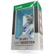 LUCAS LightBooster H4 12V 60 / 55W Blue 2pcs - Car Bulb