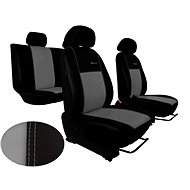 EXCLUSIVE gray leather seat covers