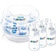 Philips AVENT Sterilizátor do mikrovlnnej rúry + dojčenskej fľaše