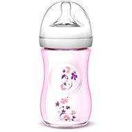 Philips AVENT dojčenská fľaša Natural, 260 ml - kvet - Detská fľaša