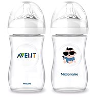Philips AVENT kojenecká láhev Natural, 2x260ml - Milionář