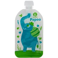Petite & Mars Papoo Food Pouch - 6 × 150 ml - Feeding Set