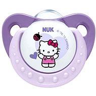 NUK dudlík Trendline Hello Kitty 6-18 měsíců, fialový