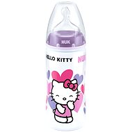 NUK dojčenská fľaša Hello Kitty, 300 ml - fialová
