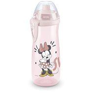NUK láhev Sports Cup, 450 ml - Mickey, bílá