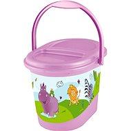 OKT Koš na pleny HIPPO - fialový
