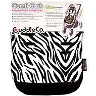 Cuddle Co. Podložka do kočárku Zebra - Podložka do kočárku
