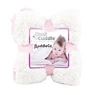 Cuddle Co. Dětská deka Blush