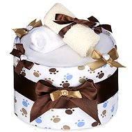 T-tomi Plienková torta veľký - biele labky