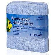 T-tomi Bambusové žinky 4ks - Modrá
