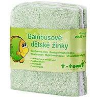 T-tomi Bambusové žinky 4ks - Zelená