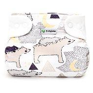 T-tomi Bambusová AIO plienka safari + 2x vkladacia plienka