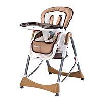 Caretero Bistro - béžová - Jídelní židlička