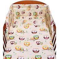 Neue Baby-3-teiliges Bettwäsche-Set - Eulen