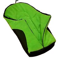 New Baby Fusak Car - Green - footmuff