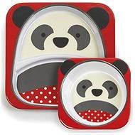 Skip hop Zoo Jídelní set - Panda - Jídelní sada pro děti