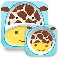 Skip hop Zoo Jídelní set - Žirafa - Jídelní sada pro děti