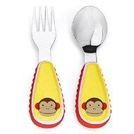 Skip hop Zoo Příbor - Opička - Jídelní sada pro děti