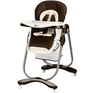 Gmini Mambo - tmavě hnědá - Jídelní židlička