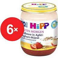 HiPP BIO Müsli, jahody a jogurt - 6x 160g