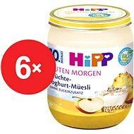 HiPP BIO Müsli, ovoce a jogurt - 6× 160 g - Dětský příkrm