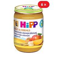 HiPP BIO Ovocná kaša s celozrnnými obilninami - 6x 190g