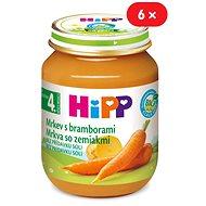 HiPP BIO Karotka so zemiakmi - 6x 125g
