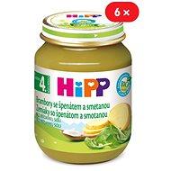 HiPP BIO Zemiaky so špenátom a so smotanou - 6x 125g