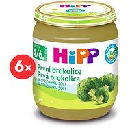 HiPP BIO První brokolice - 6× 125 g - Dětský příkrm