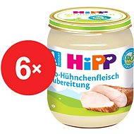 HiPP BIO Kuřecí maso - 6x 125g