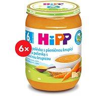 HiPP BIO Kuracia polievka s pšeničnou krupicou - 6x 190g