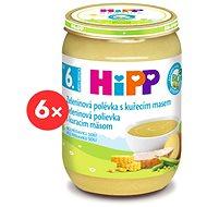 HiPP BIO Zeleninová polievka s kuracím mäsom - 6x 190g
