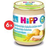 HiPP BIO Zemiakové pyré s kukuricou a morčacím mäsom - 6x 125g
