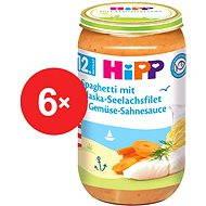 HiPP Špagety s treskou a zeleninou v smotanovej omáčke - 6x 250g