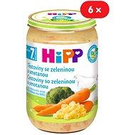 HiPP BIO Cestoviny so zeleninou a smotanou - 6x 220g