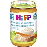 HiPP BIO Zelenina s rýží a telecím masem - 6x 220g